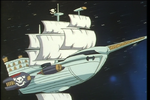 Pirate Ship in Space