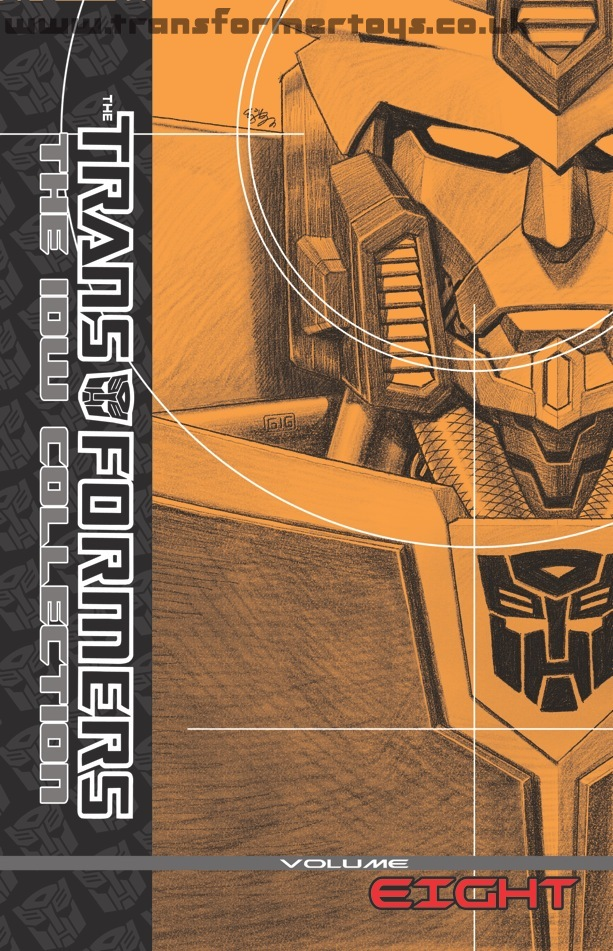 Transformers: The IDW Collection Volume 8 cover