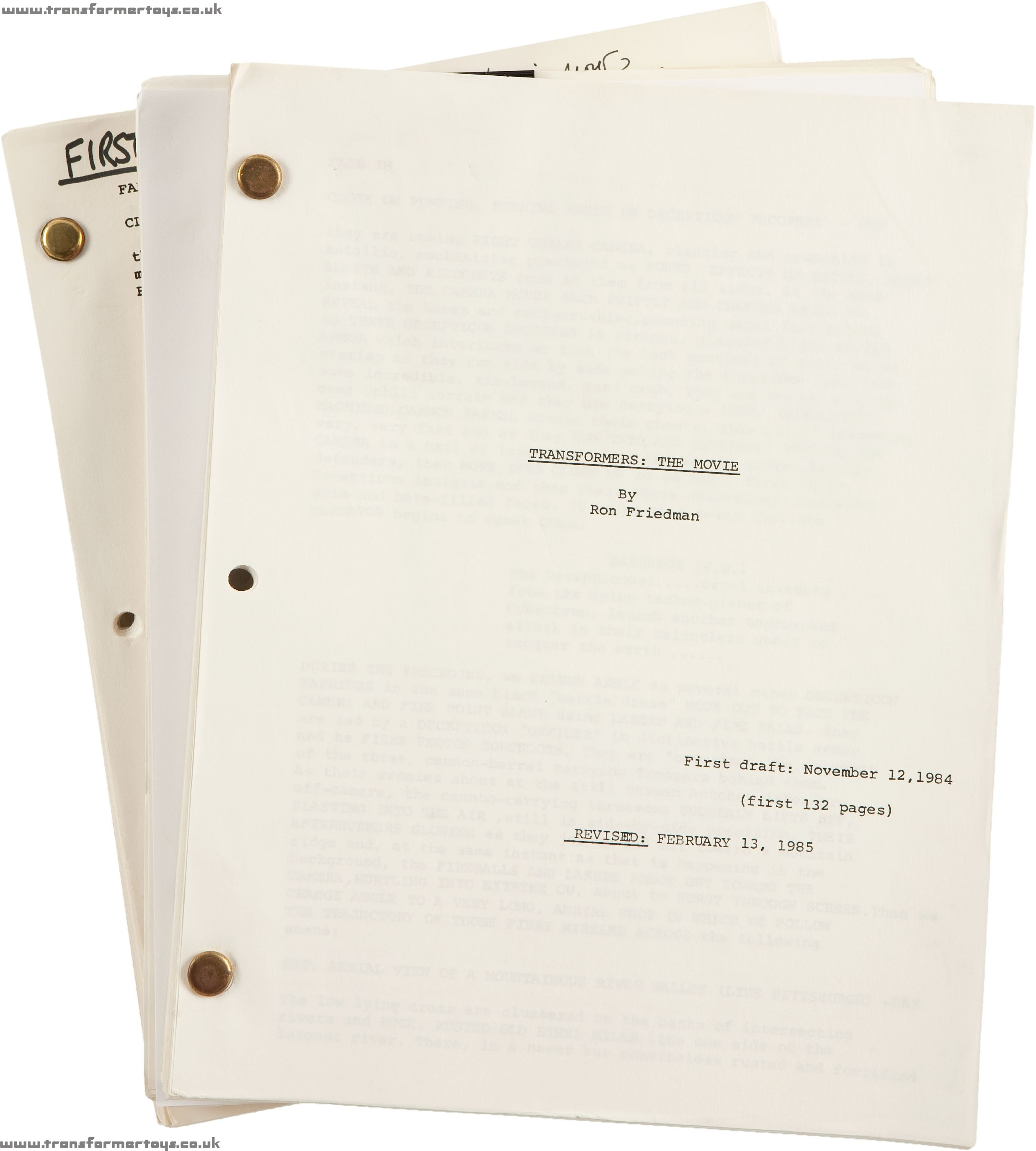 Naked Gun Script 40