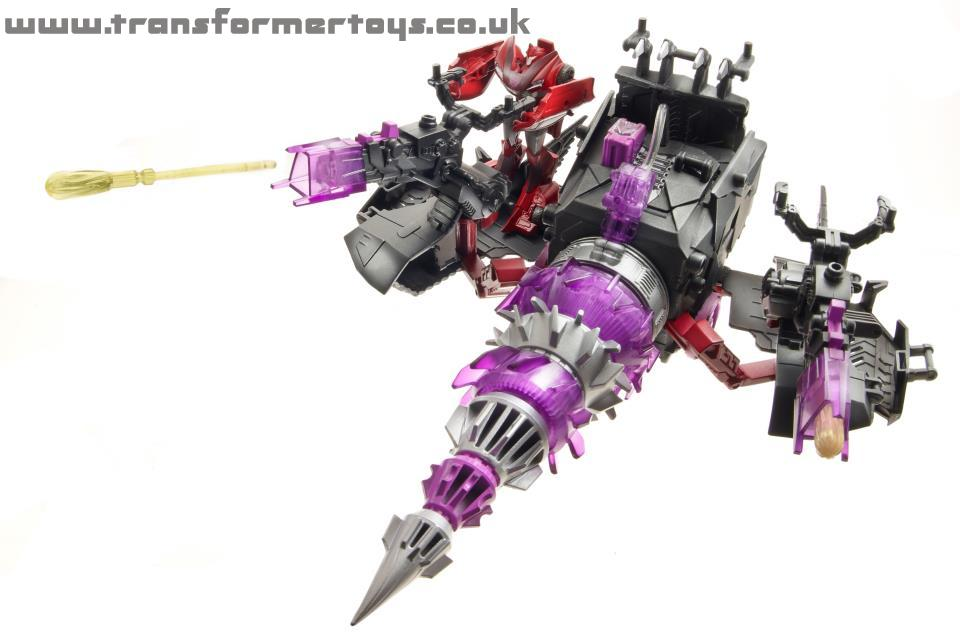 Transformers Prime Driller with Knockout