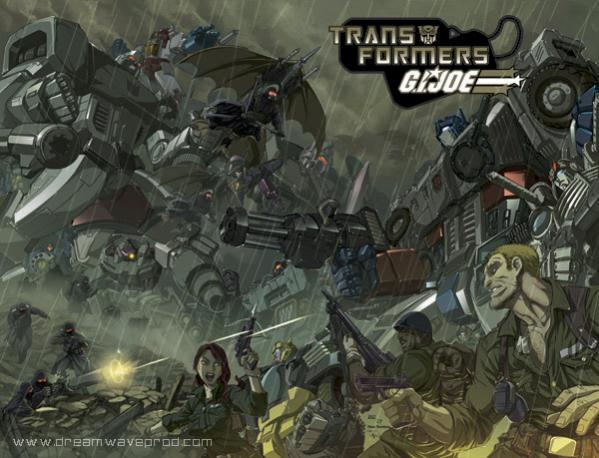 Transformers GI Joe Crossover