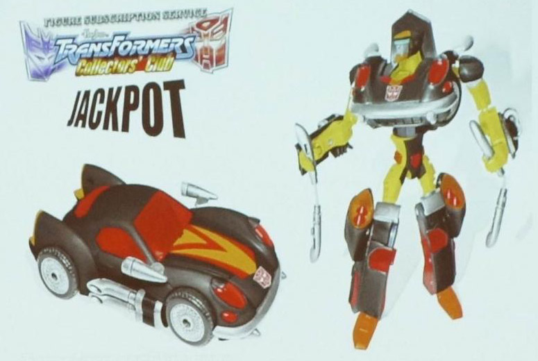 Transformers Animated Jackpot
