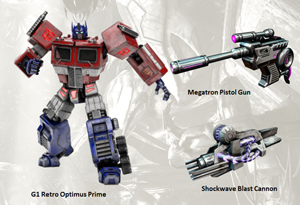 G1 Prime in Fall of Cybertron
