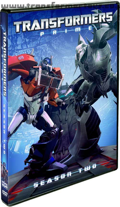 Transformers Prime Season 2 DVD and Blu-Ray cover