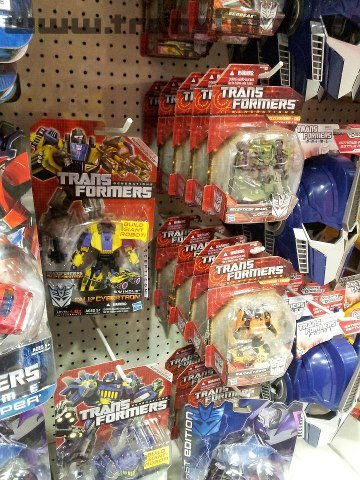 Fall of Cybertron Toys