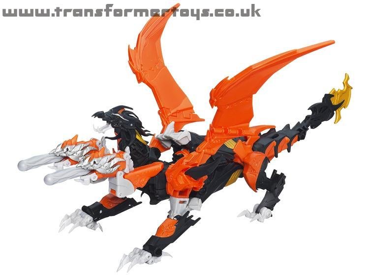 Transformers Prime Beast Hunters Predaking Dragon mode