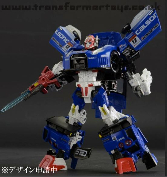 Transformers Alternity Super GTR Star Saber