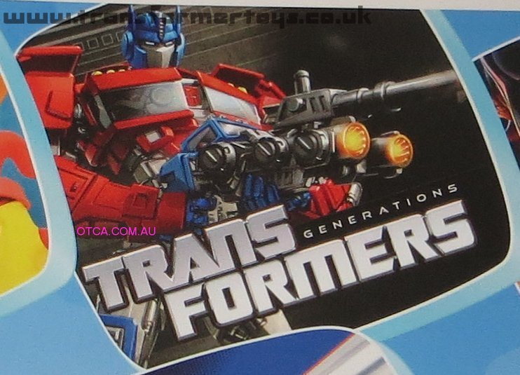 Transformers Generations Optimus Prime with Roller