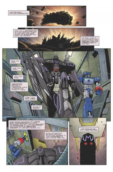 IDW Spotlight: Megatron by Nick Roche
