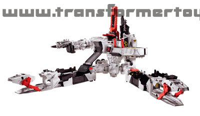 Fall of Cybertron Metroplex City Mode