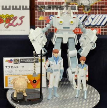 Miyazawa G1 Exo Suit with Spike and Daniel