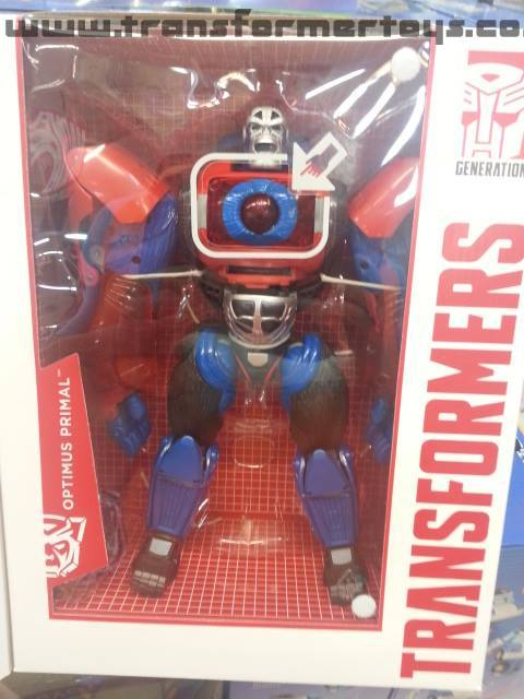 Platinum Edition Year of the Monkey Optimus Primal