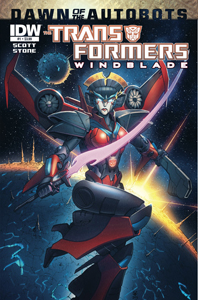 Windblade Issue 1 Cover