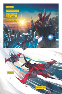 Windblade Issue 1 page 1