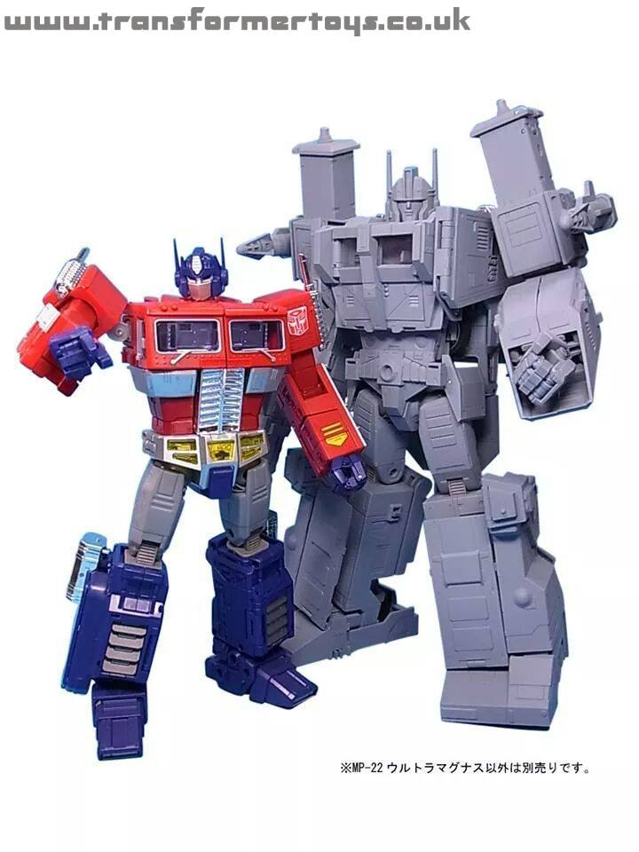 have been released of the grey prototype of Masterpiece Ultra MagnusUltra Magnus Toy