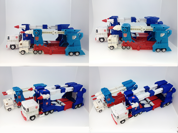 Masterpiece Ultra Magnus Comparison