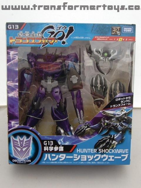 Transformers Go Hunter Shockwave