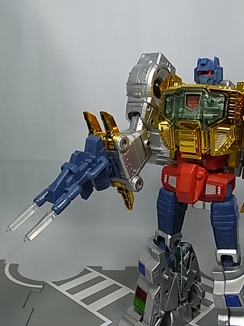 US 100/% Authentic Transformers G1 Masterpiece MP-08X Cybertron King Grimlock