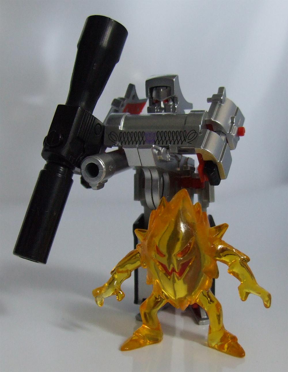 New Transformers custom third party toy kremzeek fits mp05 mp-36 megatron MISB