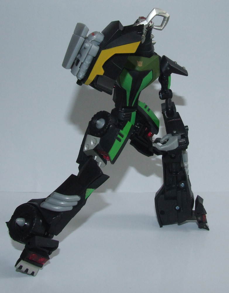 Transformers Animated Lockdown image gallery and review ...