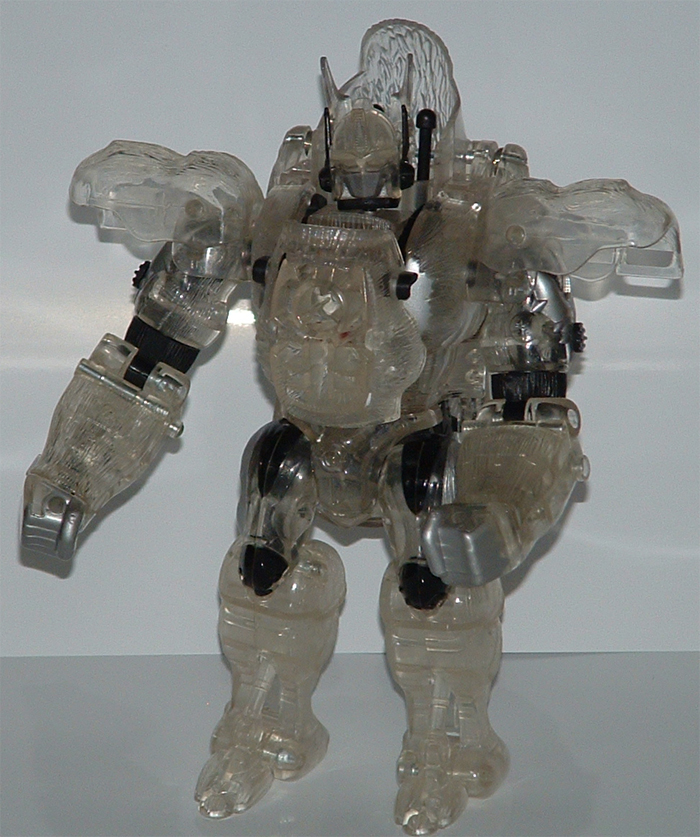 Japanese Transformers Toys : Beast wars japan clear convoy image gallery and review