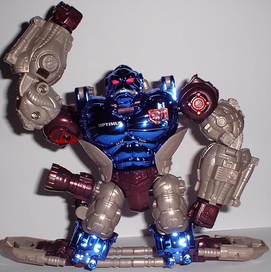 Beast Wars Transmetals Optimus Primal Is there a dire...