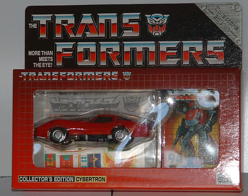 Takara Transformers MP26 Road Rage Red Tires Fire Anger
