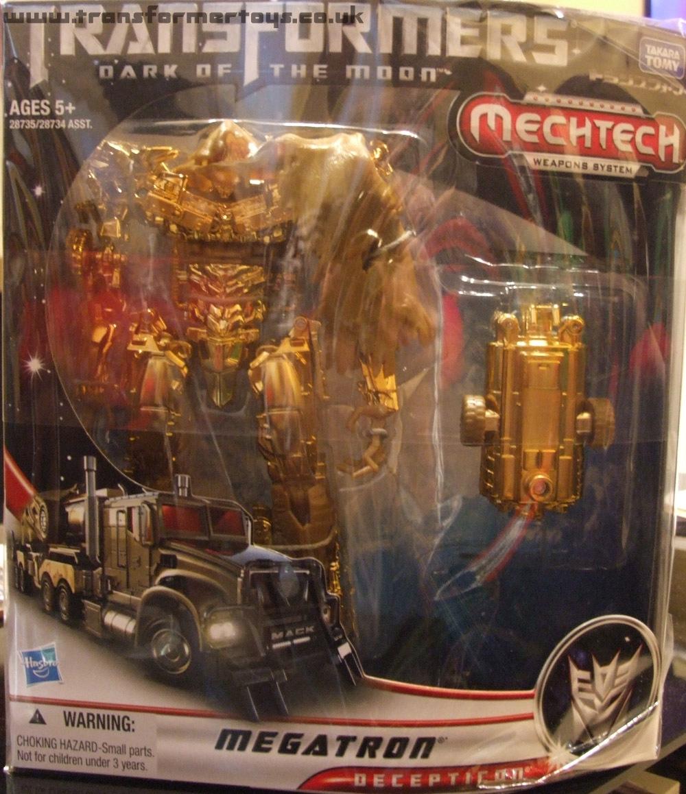 Takara TOMY Transformers Masterpiece MP-05G MP05G Megatron Gold Action Figure