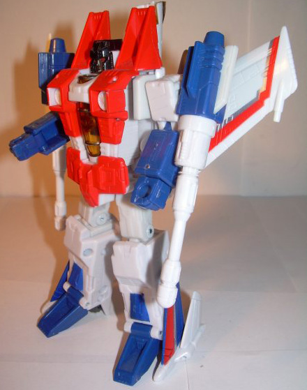 Hasbro transformers the classic 2.0 25 th anniversary of grade starscream toys