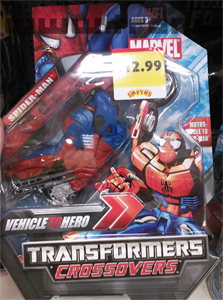 Transformers CrossOver Spiderman