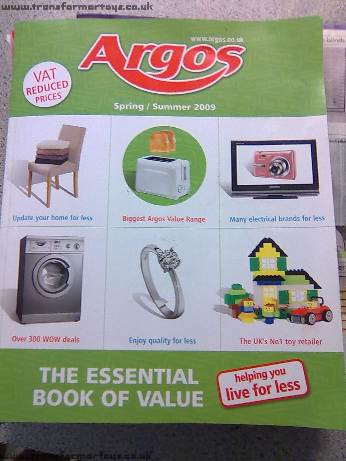 Now we just have Argos.