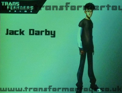 Transformers Prime Jack Darby