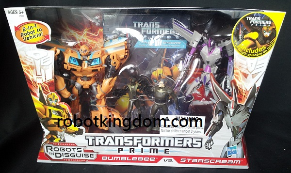 Transformers Prime DVD 2Pack