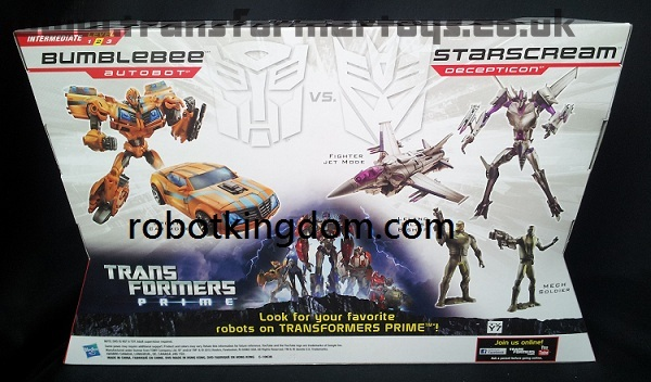 bumblebee and starscream two pack