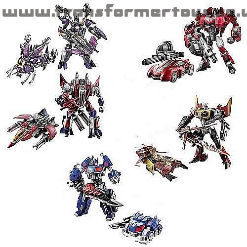 Transformers Generations Fall of Cybertron Wave 3